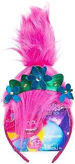 Trolls World Tour Princess Poppy Headband With Faux Troll Hair