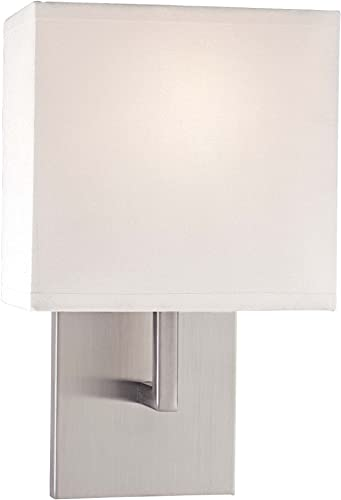 new arrival George discount Kovacs discount P470-084 1 Light Wall Sconce, Brushed Nickel sale