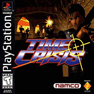 Time Crisis (plus Guncon) for Sony Playstation 1 by Namco 1997