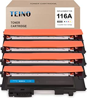 TEINO Compatible Toner Cartridge Replacement for HP 116A W2060A W2061A W2062A W2063A use with HP Color Laser MFP 178nw 179...