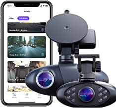 Nexar Pro GPS | Dual Dash Cam System | New 2021 Model | SD Card Included | Road & Interior Recording | WiFi | Unlimited Cl...