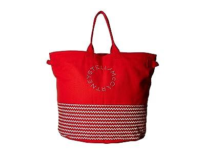 Stella McCartney Bag (Red/Cream) Tote Handbags