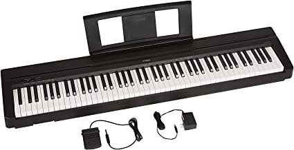 YAMAHA P71 88-Key Weighted Action Digital Piano With Sustain Pedal And Power Supply..
