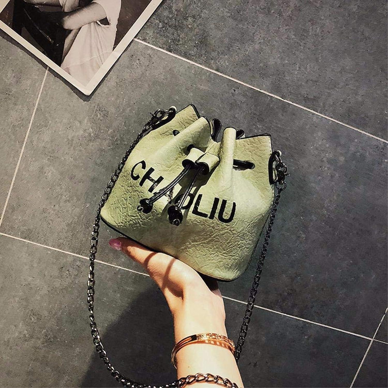 ERSANWU Neue Wilde Kurierbeutelart und weisenketten-Umhängetasche der Tasche der Frau Neue B07Q6XDFHS