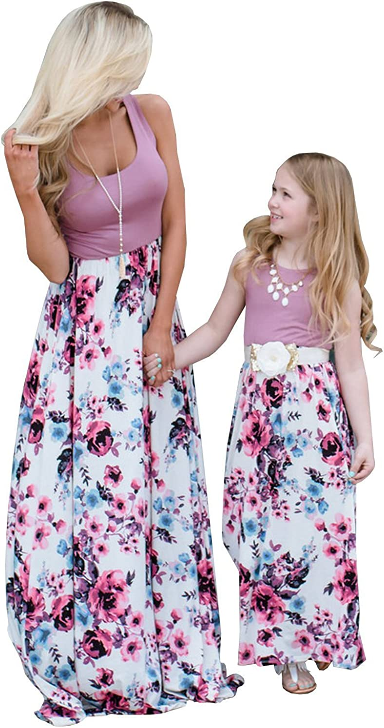 Our shop OFFers the best service Mommy and Me Dresses Casual Outfits Matchin Family Summer Floral Choice