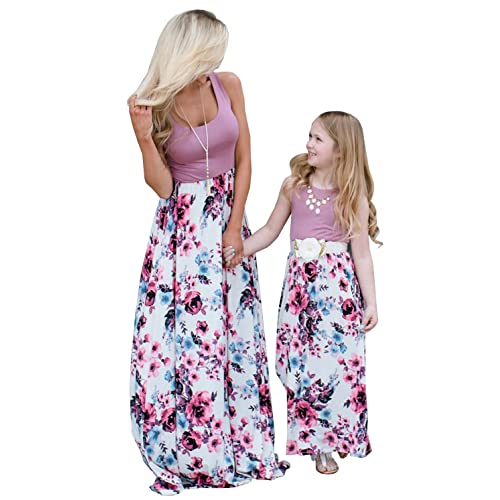 af1a7a9e35b9 Orianna Mommy and Me Matching Maxi Dresses