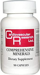 Cardiovascular Research Comprehensive Minerals, White, 90 Count