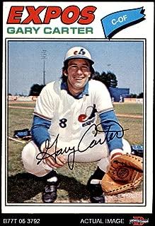 1977 Topps # 295 Gary Carter Montreal Expos (Baseball Card) Dean's Cards 5 - EX Expos