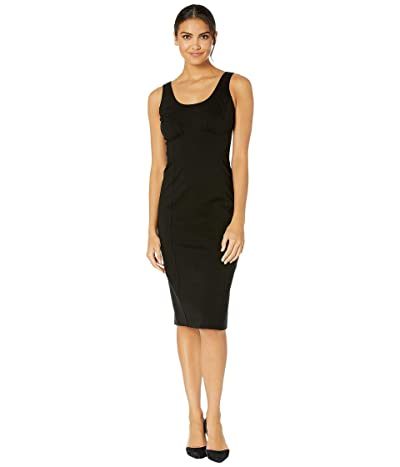Kate Spade New York Ponte Paneled Dress (Black) Women