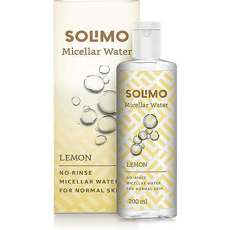 Amazon Brand - Solimo Micellar Water, Lemon, 200ml