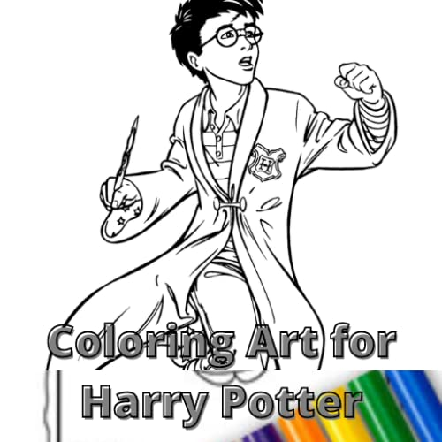 Coloring Art for Harry Potter Unofficial
