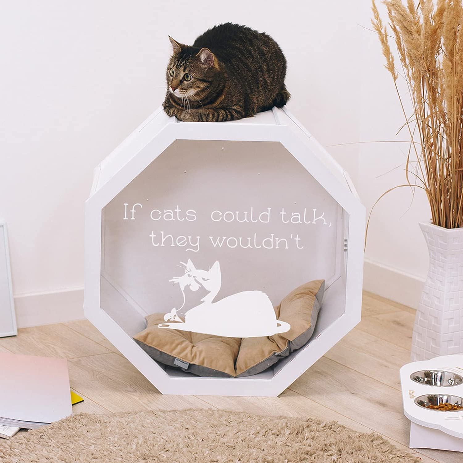 Cat Furniture House Bed SEAL limited product T for Gifts Max 54% OFF Indoor