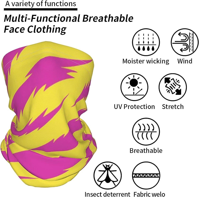 Arabesque Star Pattern Neck Gaiter Multipurpose Headwear Ice Silk Mask Scarf Summer Cool Breathable Outdoor Sport 4 Pcs