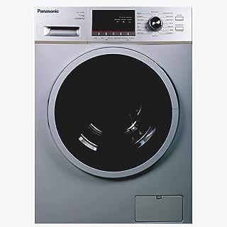 Panasonic 7Kg 1200 RPM Front Load Washing Machine, Silver - NA127MB2L, 1 Year Warranty