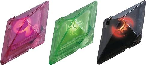 Bizak Pokémon - Pack de 3 Cristales Z-Ring, Metal/Roca/