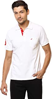 AMERICAN CREW Men's Classic Polo T-Shirt with Pocket Tshirts