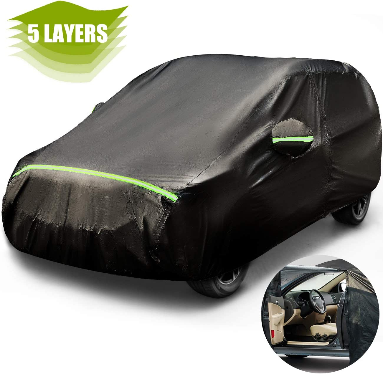 Purchase Favoto Car Ranking TOP7 Cover SUV Universal Fit 169 5 to 181 inch