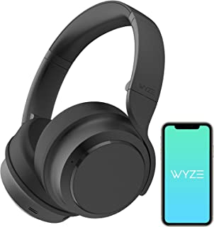 Wyze Noise-Cancelling Headphones, Wireless Over the Ear Bluetooth Headphones with Active Noise Cancellation, High-fidelity...