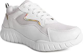 SneakersVilla Women/Girls Perfect Light Weight and Comfortable Sneakers and Running Shoes with Attractive Design and Casua...