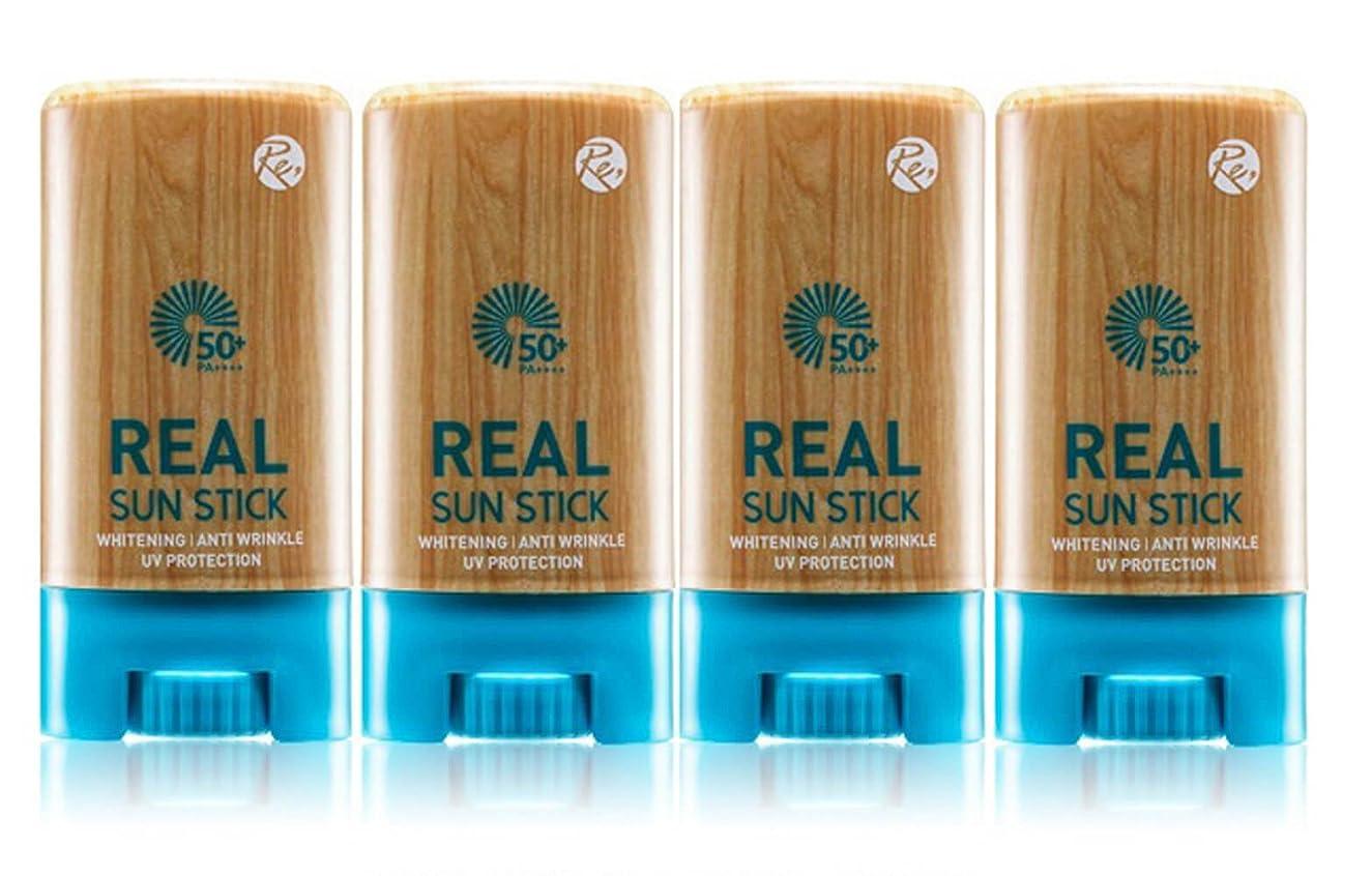 どういたしましてミニサイドボードREONE リアル サンスティク20g PA++++UVA UVB 日焼け止め サンスクリーン 紫外線遮断 三機能性 透明肌 保護膜 4本セット 海外直送品 (Real Sun Stick 20g PA ++++ UVA UVB UV Protection Sunscreen Triple Function Transparent Skin Protection 4EA Set)