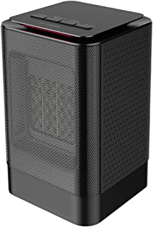 VersionTECH. Small Space Heater Personal Portable Electric PTC Ceramic Heater,Tip-Over&Over-Heat Protection, Multifunctional Rotatable Fan Warmer with 3 Modes For Home Office