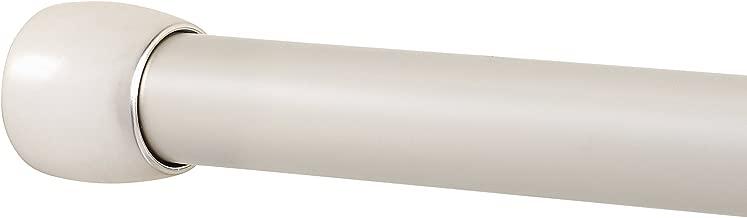 Zenna Home NeverRust 66 to 110-Inch Rustproof Shower Rod, Nickel