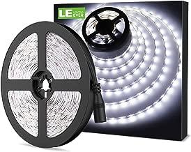 LE Ruban LED 12V 5M Autocollant Blanc Froid 6000K, Bande LED Lumineuse 18w, Bandeau LED Recoupable Flexible pour Chambre, Hôtel, Mariage, Soirée, Bar, Présentoir etc