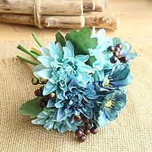 Flores artificiales decoracion Tulipán flor artificial de látex real nupcial boda ramo decoración del hogar 12 unids