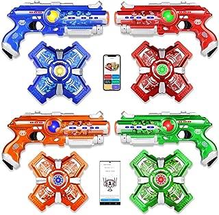 Jiggle N Smiggle - Smart Toys Make Smarter Kids! - Laser Tag Set with Thriller Gaming App