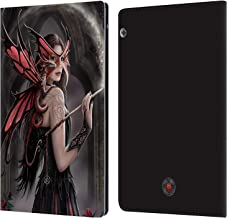 Official Anne Stokes Spellbound Dragon Friendship Leather Book Wallet Case Cover Compatible for Huawei MediaPad T5