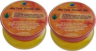 QYKKARE Aloe Vera Sandal Gel - Premium Quality - 200gm (100gm X 2)