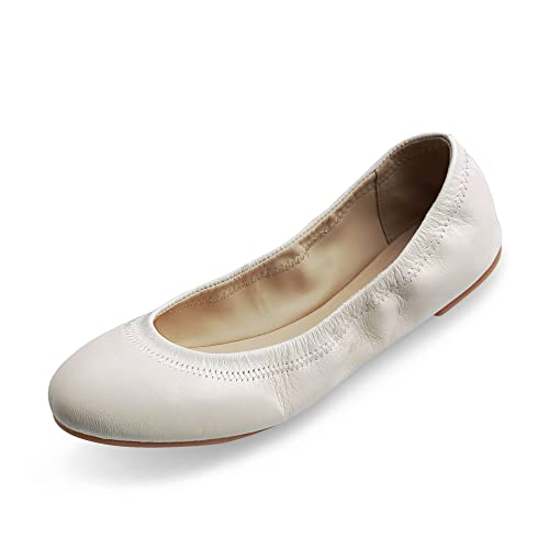 17567e13332 Xielong Women s Emmie Chaste Ballet Flat Lambskin Loafers Casual Ladies  Shoes Leather