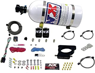 Nitrous Express 20935-10 78mm EFI Nitrous Kit with 3-Blot Plate for GM LS Engine