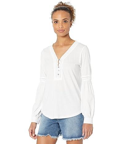 LAUREN Ralph Lauren Cotton Jersey Puff-Sleeve Top