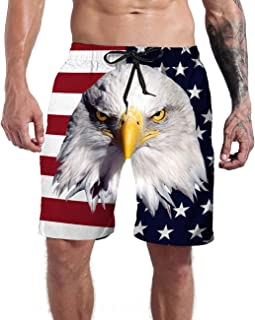 Men's Clothing Charitable Summer Men Beach Drawstring Shorts Quick Drying Printed Swim Trunks Shorts Surf Board Short Pants Plus Size Large Assortment