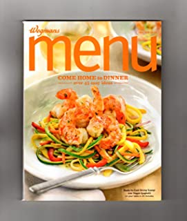 Wegmans MENU Magazine / Fall, 2015 - Cuisine, Cookbook Recipes