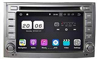 6.2 Inch TouchscreenAndroid 8.1 OS Car Radio Compatible with Hyundai H1/Starex/Imax/Iload/I800(2006-2013), DVD Player Blue...
