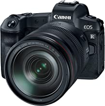 Canon EOS R Mirrorless Digital Camera with 24-105mm Lens (Renewed)