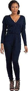 Standards & Practices Women's Long-Sleeved Tencel Denim Jumpsuit