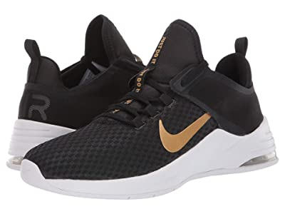 Nike Air Max Bella TR 2 (Black/Metallic Gold/Gunsmoke/Vast Grey) Women