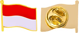 Best indonesia flag pin Reviews