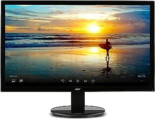 شاشة ايسر K202HQL bd مقاس 20 انش (19.5 انش للعرض) (1600 × 900) (منافذ دي في اي وفي جي ايه)