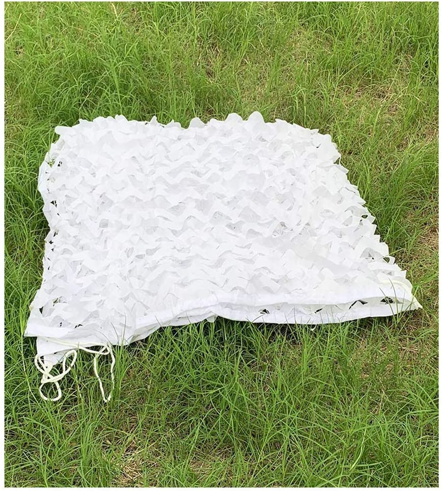 1 year warranty Courier shipping free Camo Netting with Mesh Backing 3X10m 33ft White Camoufl X 10ft