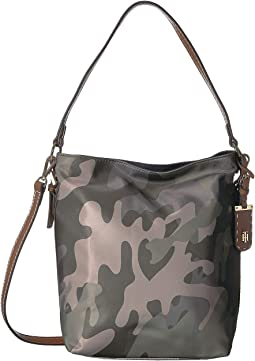 Julia Camo Convertible Hobo