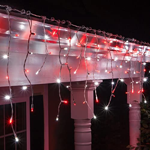Red And White Christmas Lights.Red White Led Christmas Lights Amazon Com