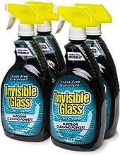 پاک کن شیشه ای نامرئی و اسپری پنجره ای برای خانه و اتومبیل برای درخشش بدون رگه. پاک کننده شیشه ای بدون فیلم برای ویندوز براق و بدون رنگ. دزدگیر فیلم شیشه ای ، 32 اونس.