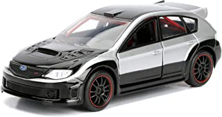 Jada 98507 Toys FF Subaru WRX STI Diecast Vehicle, Silver, 1:32 Scale, Silver/Black