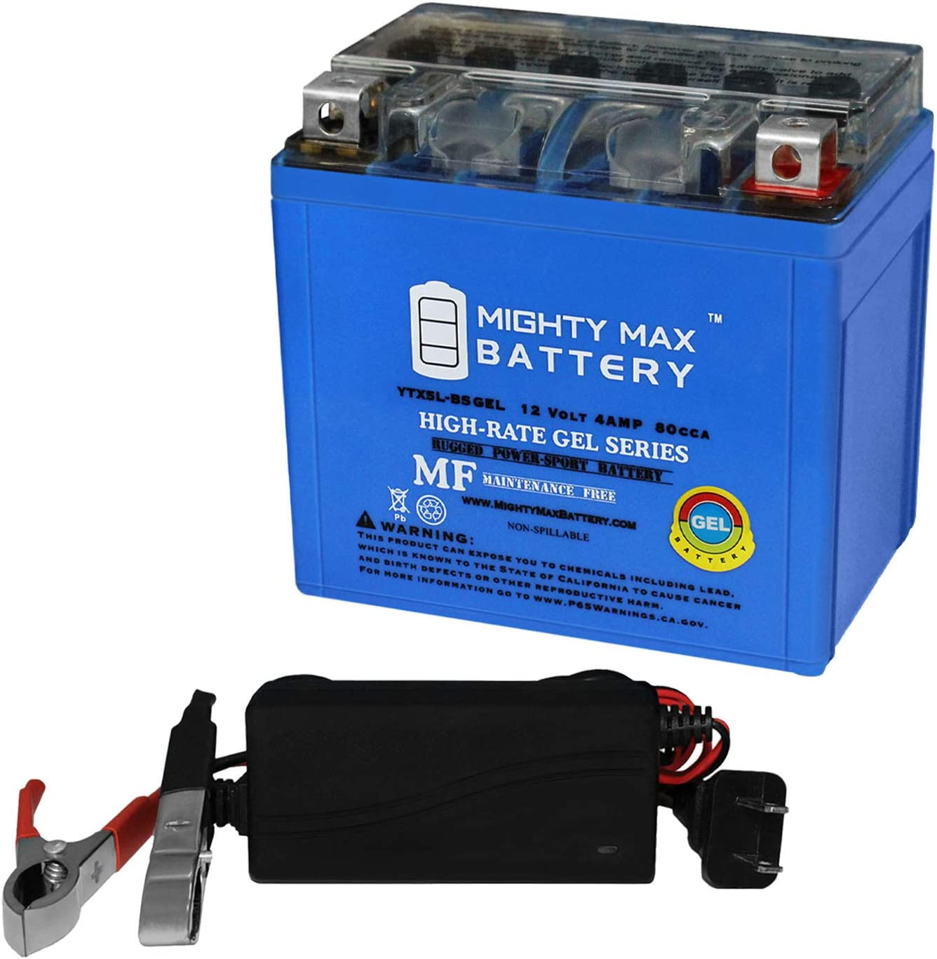 All items free shipping Mighty Max Battery YTX5L-BS Gel Centennial Powe Replaces Tampa Mall CTX5LBS