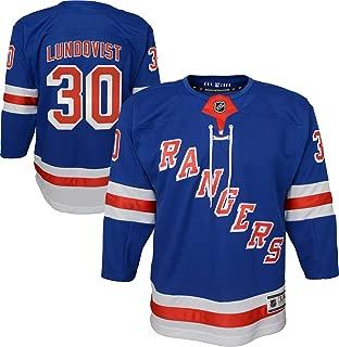 Henrik Lundqvist New York Rangers #30 Blue Youth Home Youth Premier Jersey