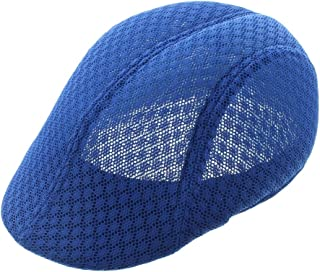 JFH Men Breathable Mesh Summer Hat Driver Cap Ivy Cap